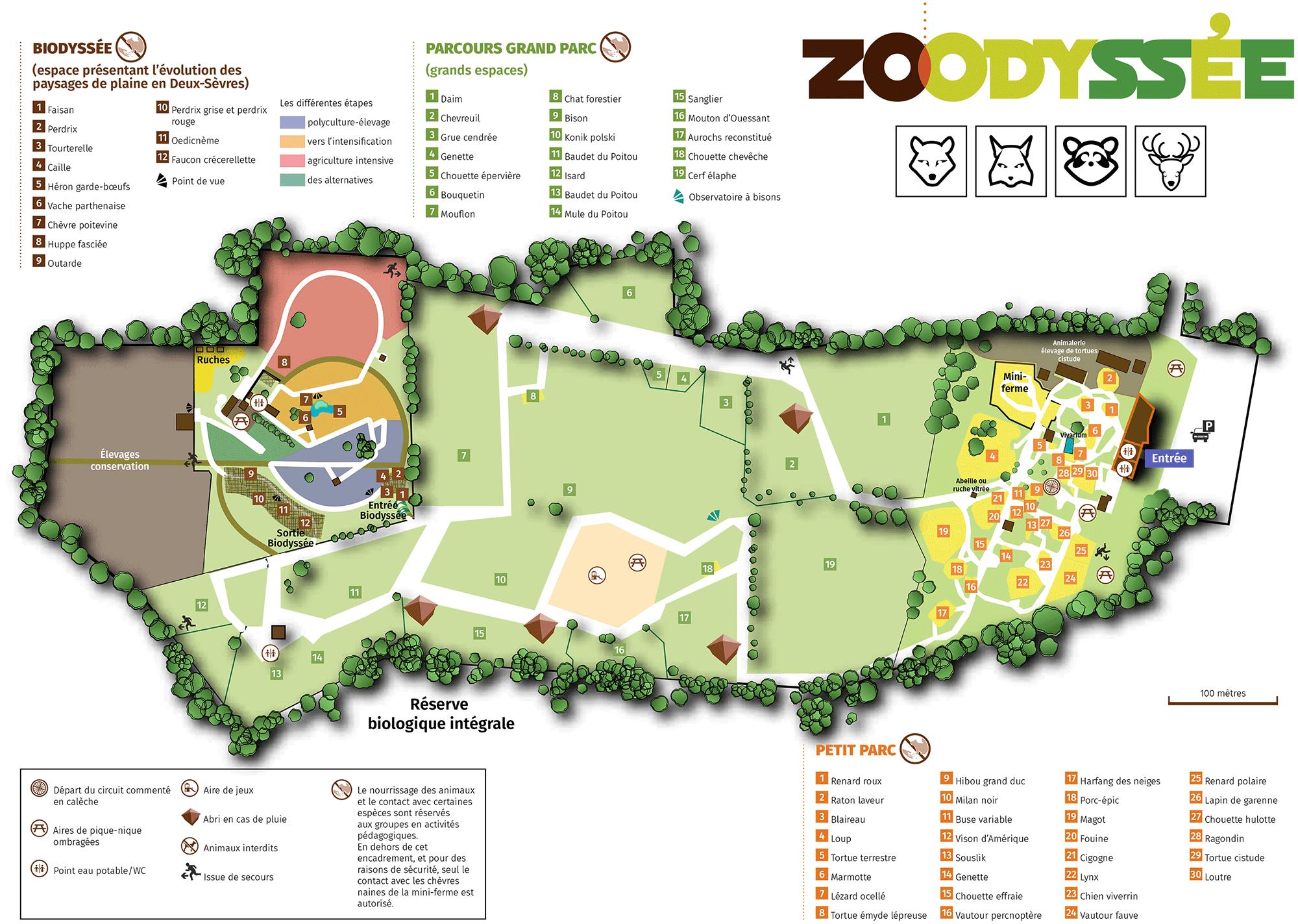 plan site zoodyssée