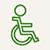picto accès handicapé
